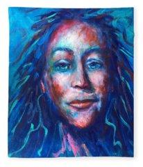 Warrior Goddess Fleece Blanket
