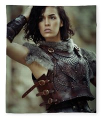 Warrior Princess Fleece Blanket