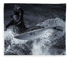 Warrior Fleece Blanket