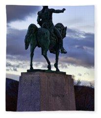 Washington Monument At West Point Fleece Blanket