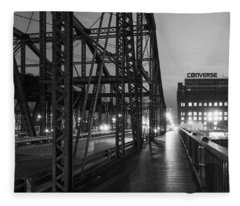 Washington Street Bridge Fleece Blanket