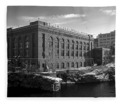 Washington Water Power Post Street Station - Spokane Washington Fleece Blanket