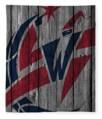 Washington Wizards Wood Fence Fleece Blanket
