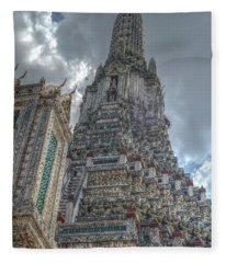 Wat Arun Fleece Blanket