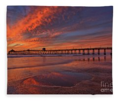 Watch More Sunsets Than Netflix Fleece Blanket