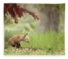Watching Fleece Blanket