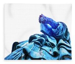 Watching Liberty Fleece Blanket