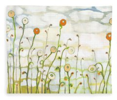 Watching The Clouds Go By No 2 Fleece Blanket