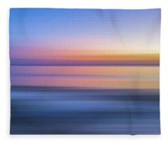 Watching The Last Light X Fleece Blanket