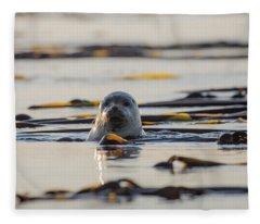 Watching You Watch Me Fleece Blanket