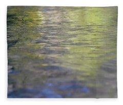 Water Colours Fleece Blanket