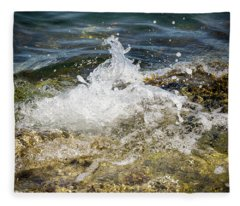 Water Elemental Fleece Blanket