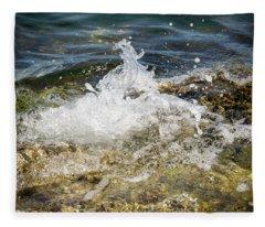 Water Elemental Fleece Blanket