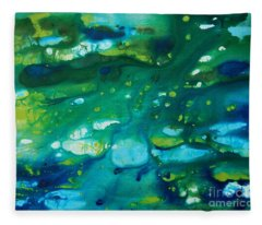 Water Movement Fleece Blanket