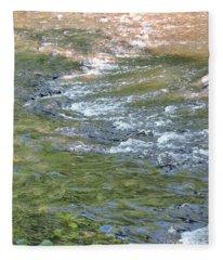 Water Rocks Fleece Blanket