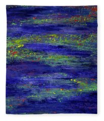 Water Serenity Fleece Blanket