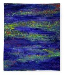 Water Serenity Fleece Blanket
