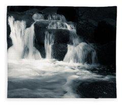 Water Stair Fleece Blanket