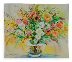 Watercolor 190 Fleece Blanket