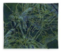 Edition 1 Watercolor Moss Fleece Blanket