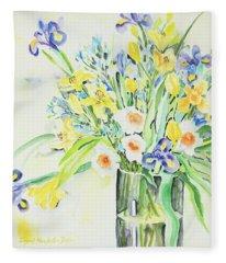 Watercolor Series 143 Fleece Blanket
