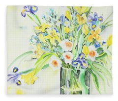 Watercolor Series 143 Fleece Blanket