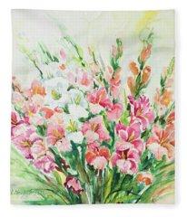 Watercolor Series 144 Fleece Blanket