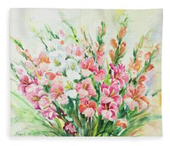 Watercolor Series 144 Fleece Blanket