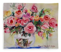 Watercolor Series 152 Fleece Blanket