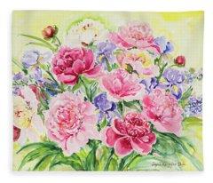 Watercolor Series 153 Fleece Blanket