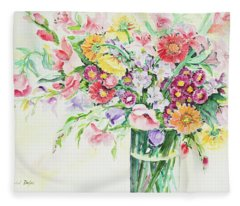 Watercolor Series 162 Fleece Blanket