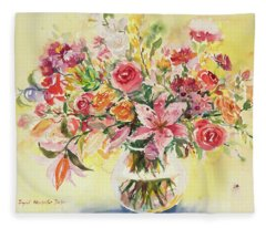 Watercolor Series 164 Fleece Blanket