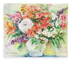 Watercolor Series 165 Fleece Blanket