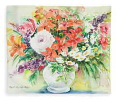 Watercolor Series 165 Fleece Blanket