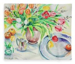Watercolor Series 168 Fleece Blanket