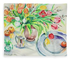 Watercolor Series 168 Fleece Blanket