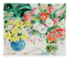 Watercolor Series 170 Fleece Blanket