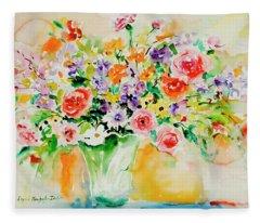 Watercolor Series 171 Fleece Blanket