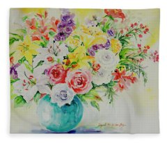 Watercolor Series 172 Fleece Blanket