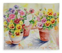 Watercolor Series 174 Fleece Blanket