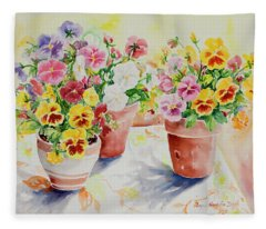 Watercolor Series 174 Fleece Blanket