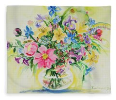 Watercolor Series 175 Fleece Blanket
