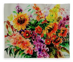 Watercolor Series 176 Fleece Blanket
