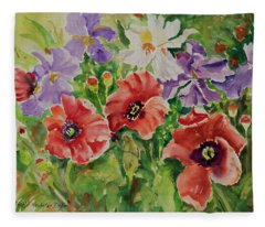 Watercolor Series 177 Fleece Blanket