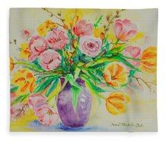 Watercolor Series 178 Fleece Blanket