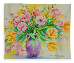 Watercolor Series 178 Fleece Blanket
