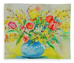 Watercolor Series 179 Fleece Blanket