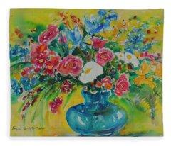 Watercolor Series 180 Fleece Blanket