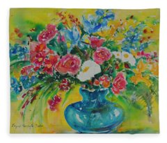 Watercolor Series 180 Fleece Blanket