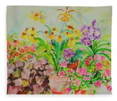 Watercolor Series 182 Fleece Blanket